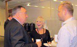 Alan Middleton, Deb McKenzie and Craig Lund